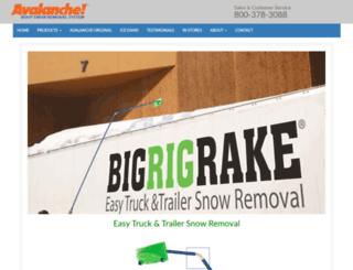 bigrigrake.com screenshot