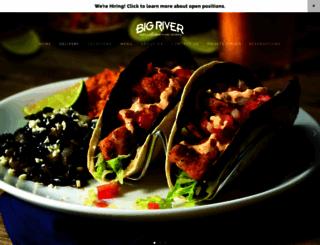 bigrivergrille.com screenshot