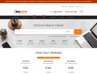 bigrock.com screenshot