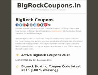 bigrockcouponcode.org screenshot