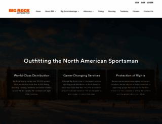 bigrocksports.com screenshot