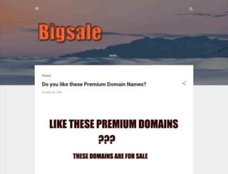 bigsale.co.in screenshot