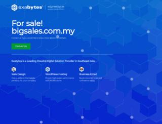 bigsales.com.my screenshot