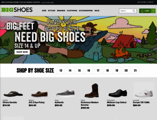 bigshoes.com screenshot