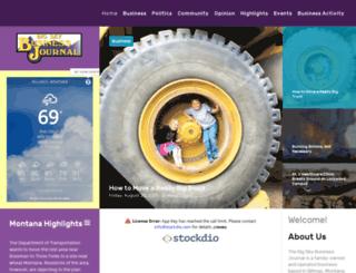 bigskybusiness.com screenshot