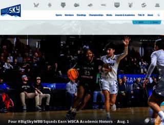 bigskyconf.com screenshot