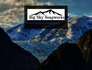 bigskysoapworks.com screenshot