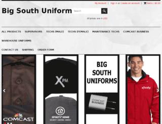 bigsouthuniform.com screenshot