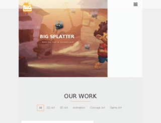 bigsplatter.com screenshot
