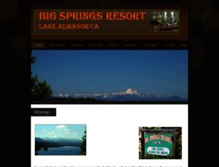 bigspringsresort.com screenshot