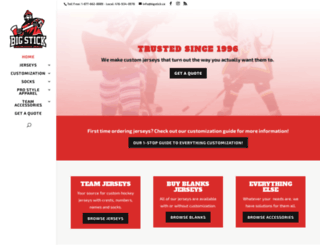 bigstick.ca screenshot
