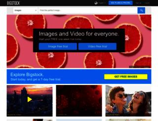 bigstockphoto.es screenshot