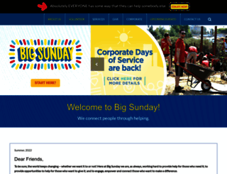 bigsunday.org screenshot