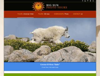 bigsunphototours.com screenshot