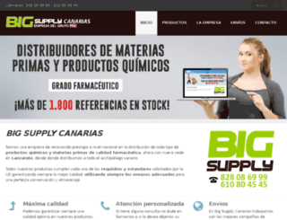 bigsupplycanarias.com screenshot
