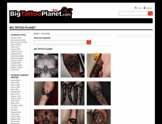 bigtattooplanet.com screenshot