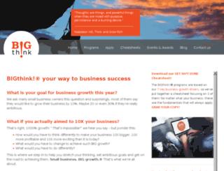 bigthinkbusinessbooster.com.au screenshot