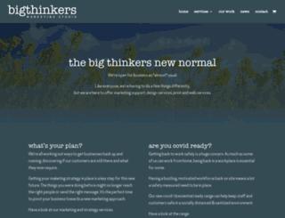 bigthinkers.co.uk screenshot