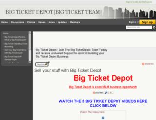 bigticketdepot.wetpaint.com screenshot