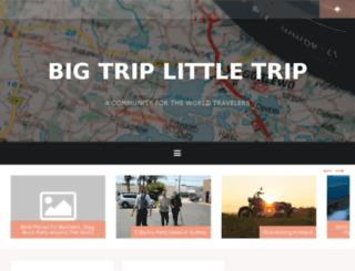 bigtriplittletrip.com.au screenshot
