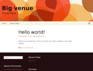bigvenue.com screenshot