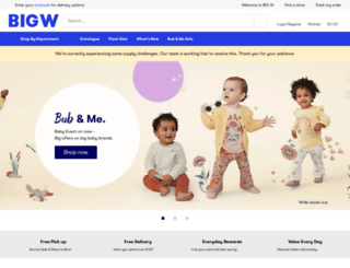 bigw.com.au screenshot