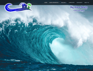 bigwaverealty.com screenshot