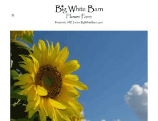 bigwhitebarn.com screenshot