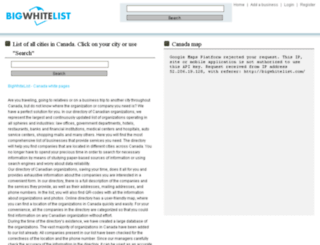 bigwhitelist.com screenshot