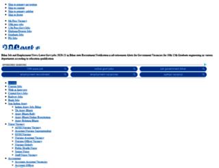 bihar.20govt.com screenshot