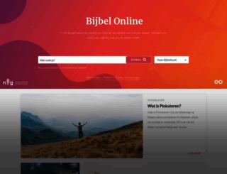 bijbel.eo.nl screenshot