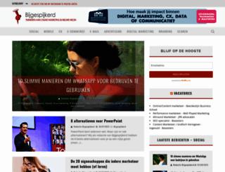 bijgespijkerd.nl screenshot