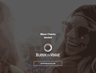 bijoux-charms.fr screenshot