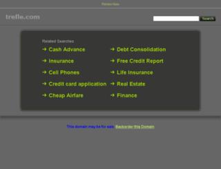 bijoux-montre.trefle.com screenshot