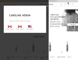 bijouxcarolineneron.com screenshot