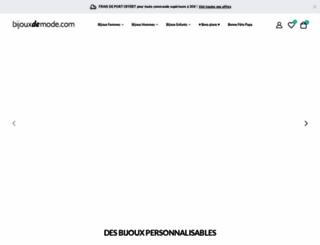 bijouxdemode.com screenshot