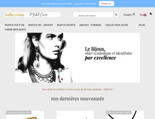 bijouxdespharaons.com screenshot