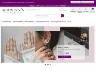 bijouxprives.com screenshot