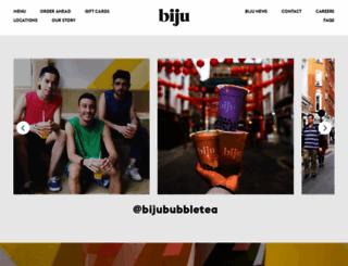 bijububbletea.com screenshot