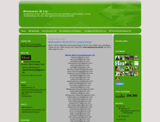 bikashlinkxchange.blogspot.com screenshot