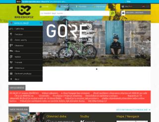bike-eshop.cz screenshot