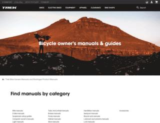 bike-manual.com screenshot