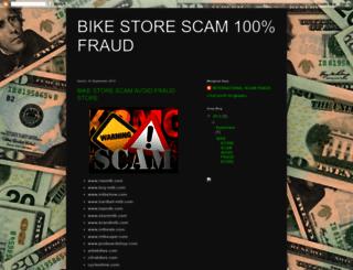 bike-scam-fraud.blogspot.co.id screenshot