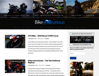 bike-urious.com screenshot