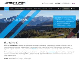 bike-zone.nl screenshot