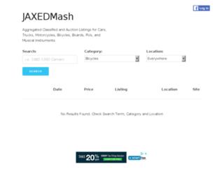 bike.jaxed.com screenshot