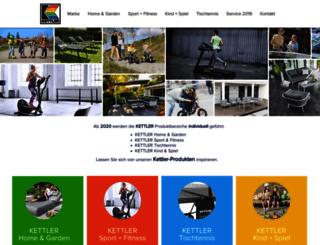 bike.kettler.net screenshot