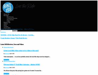 bike198.com screenshot