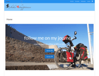 bike4happiness.com screenshot