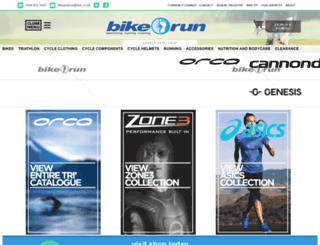bikeandrun.co.uk screenshot